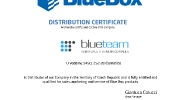 Certifikace Blue Box