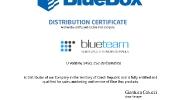 Certifikace Blue Box