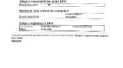 Údaje o registraci k DPH