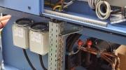 Připojení el. energie k klimatizaci Blue Box