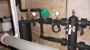 Nové a upravené rozvody chladící vody