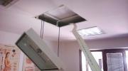 montáž klimatizace v SDK podhledu
